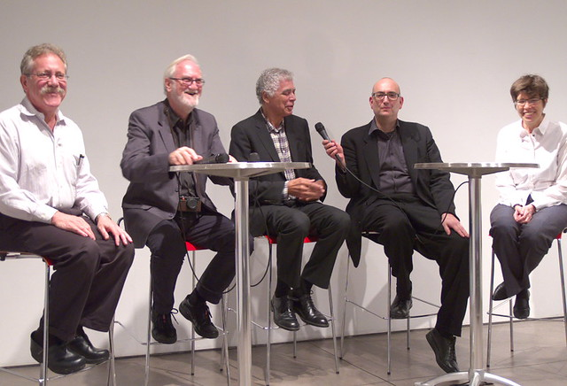 Diller and Scofidio in conversation with Dimendberg, Vidler and Polan about Lincoln Center