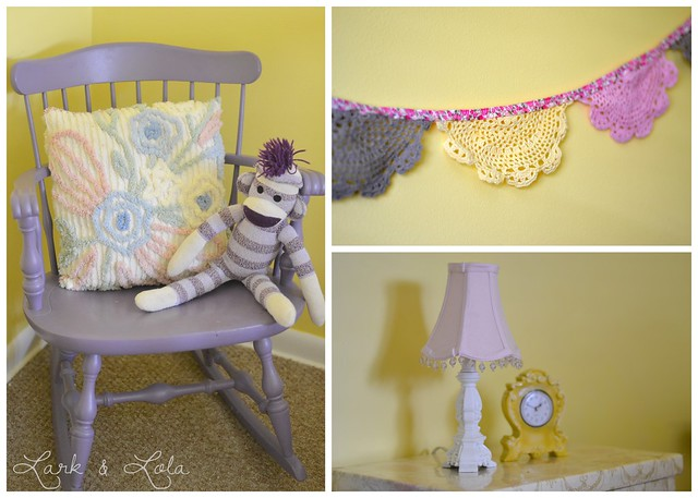 Violet's room collage