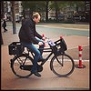 Double crate #Amsterdam #cycling
