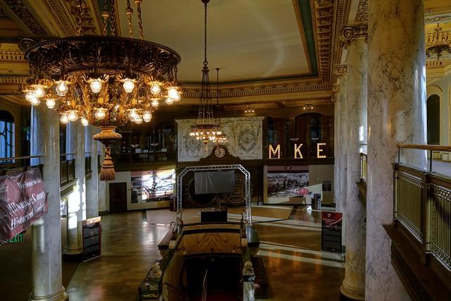 Inside Milwaukee County Historical Society