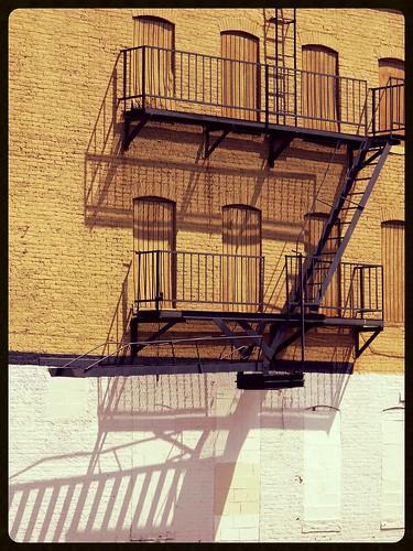 Baltimore MD ~ Sandtown fire escape by karma (Karen)