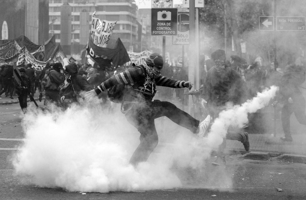 ¿Es necesaria la violencia en el movimiento estudiantil?