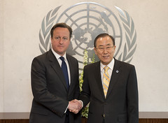 PM with UN Secretary General Ban Ki-moon