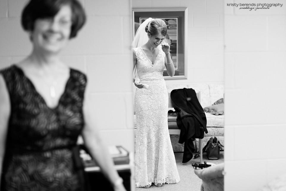 Bride Sees Herself