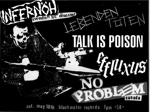5/18/13 Infernoh/LebendenToten/TalkIsPoison/Effluxus/NoProblem