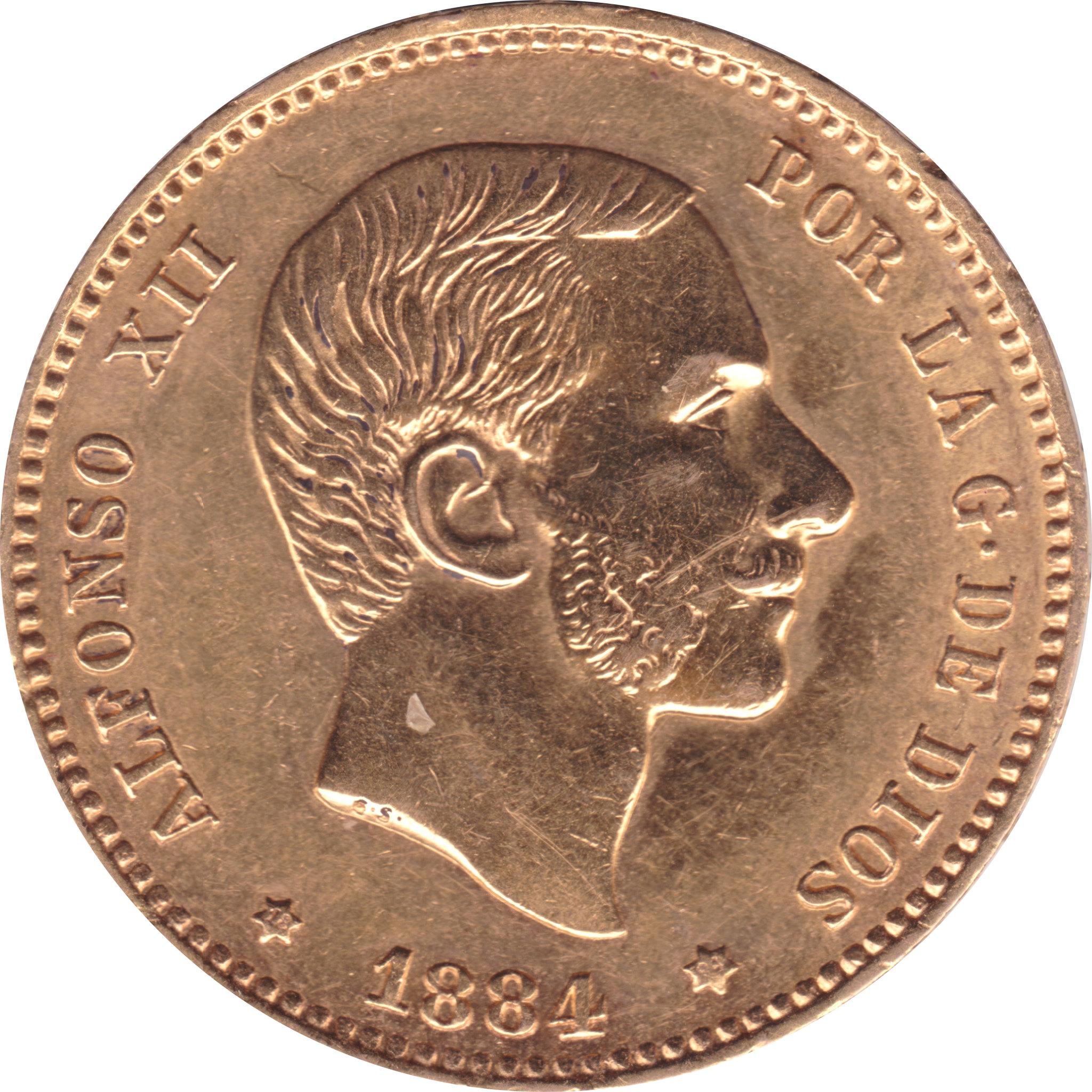 25 Pesetas Alfonso XII 1884 (subasta Soler 7 de mayo) 8744479666_037f459aa8_k