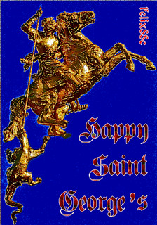 Happy Saint George's ~ Animated GIF Graphic