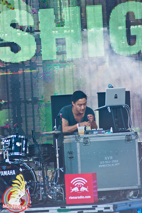 Shigeto @ Movement Festival in Detroit
