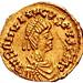 Moneda con Imagen de Rómulo Augústulo