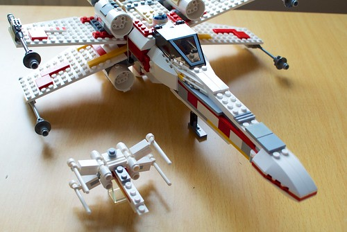 Lego X,Wing