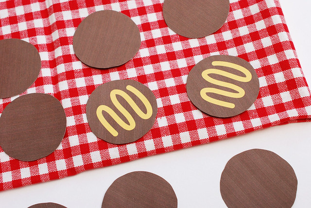Printable Burger Memory Game