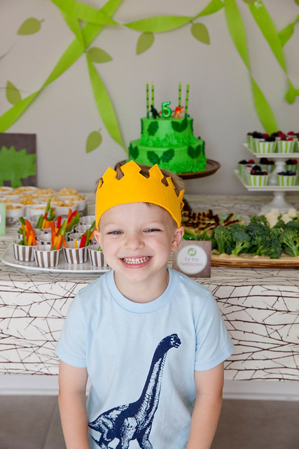 rooooaarrrrr: andrew's dinosaur birthday party