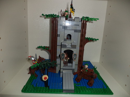 Remake: 6077 forestmen's river fortress