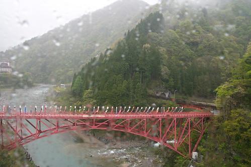 【写真】黒部峡谷鉄道