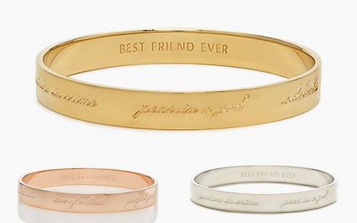 Bridesmaids Gift: Bangles by Kate Spade by Nina Renee Designs