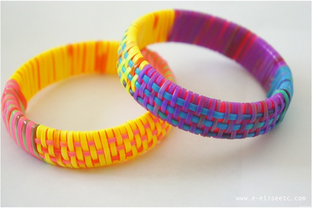 diy marc jacobs inspired woven bangle 9