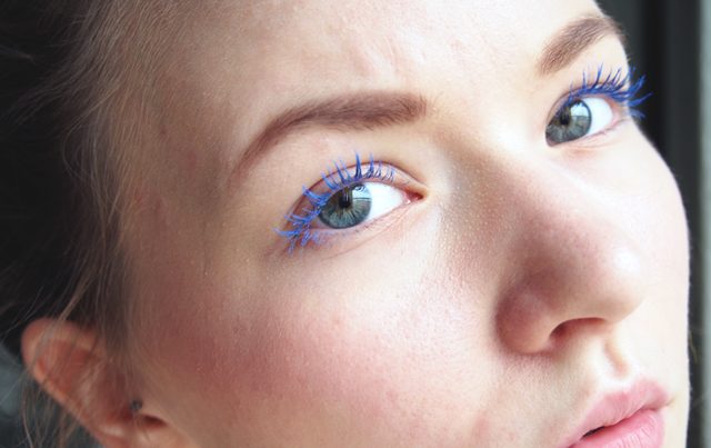 rimmel blue mascara
