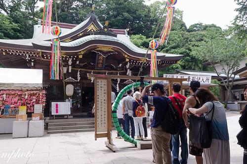 江島神社 邊津宮