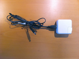 Finished Power Supply (Firewire to 2.1mm cable)
