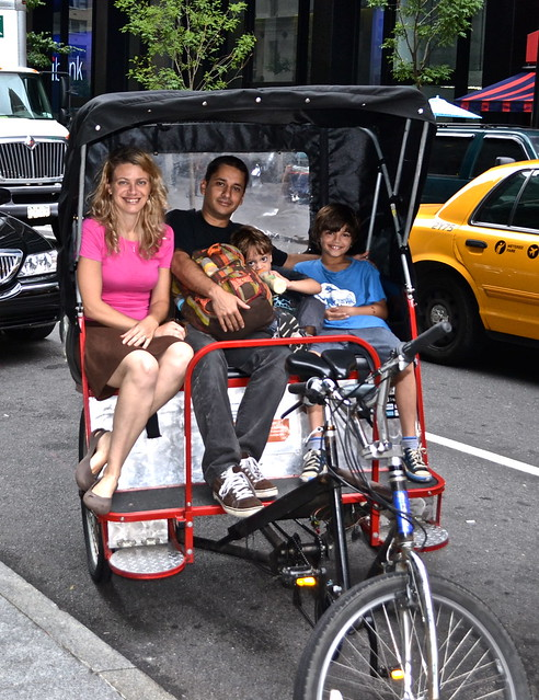 Pedicab tour - central park nyc