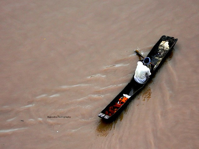 Boatman of River Narmada