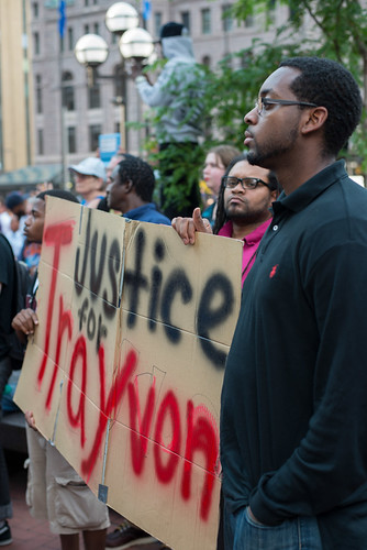 Minneapolis rally in response to the George Zimmerman verdict