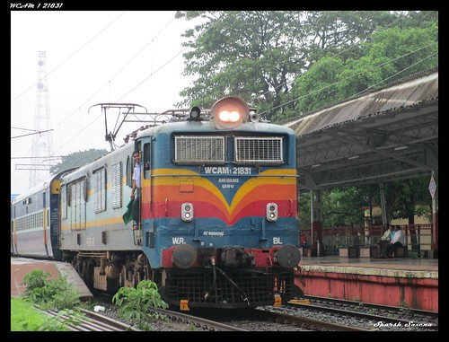 WCAM 1 21831 With 59037 Virar Surat Shuttle