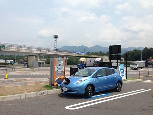 多賀SA(上り)EV急速充電器