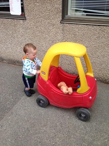 Daycare Pushcar