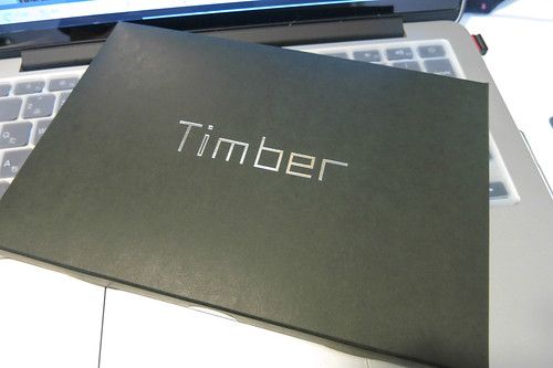 Timber iPad min Clear Case