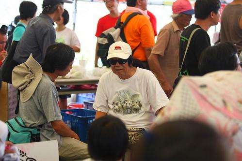 2011/08/07「反中科搶水」護水行動。張樂群攝。