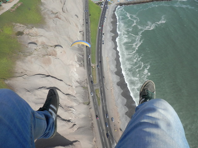 Paragliding in Lima - 2