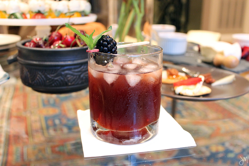 Julip Made Blackberry Ginger Shrub Old Fashioned3