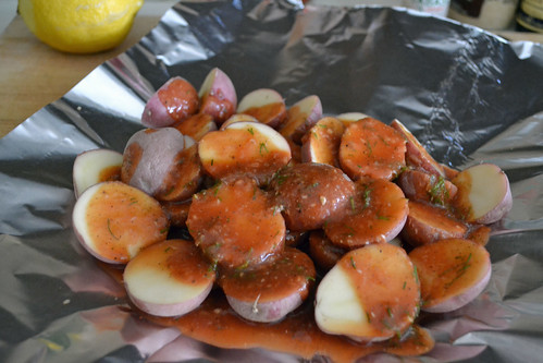 Bloody Mary Roasted Potatoes -Guest Post from Sarcastic Cooking
