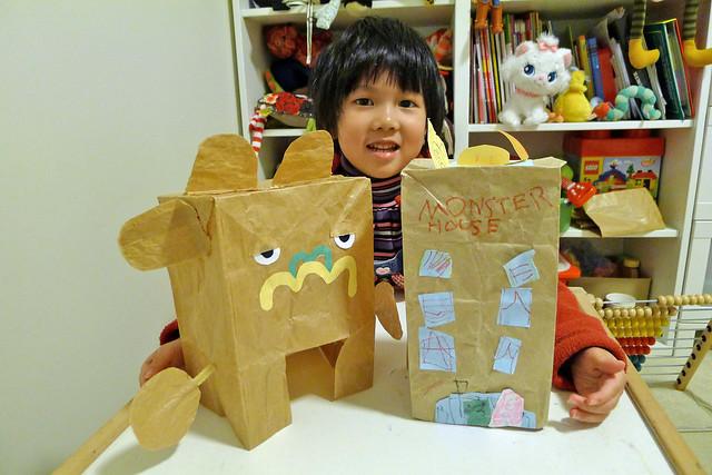 Paperbag craft