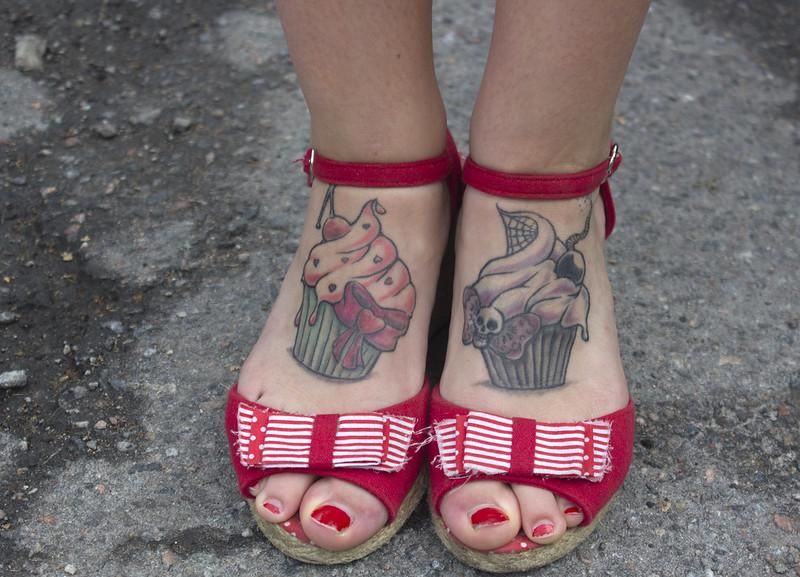 Cupcake Feet