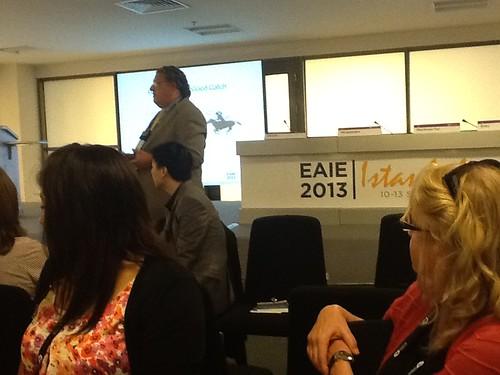Chris Medalis presenting