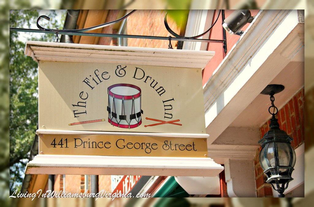 Fife and Drum Inn Sign