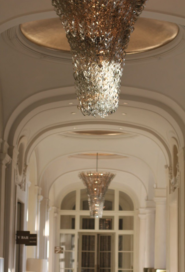 Trianon Versailles Waldorf Astoria bottom of chandelier - by Chic n Cheap Living