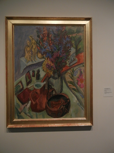 DSCN7893 _ Still Life with Jug and African Bowl, 1912, Ernst Ludwig Kirchner (1880-1938), LACMA