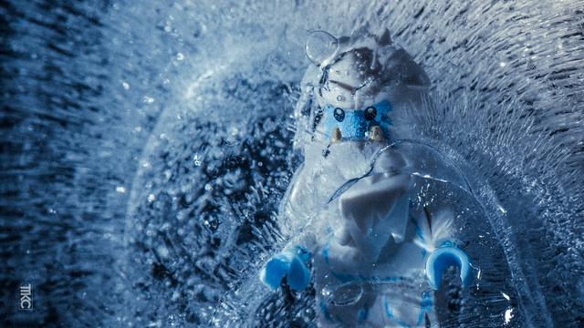 Alegominable snowman