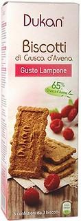Biscotti di Crusca d'Avena Gusto Lampone