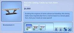 Nacelle Dining Table by Van Allen Decor