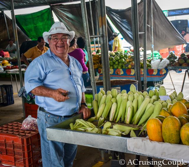 San Ramon Costa Rica Farmers Market Pura Vida