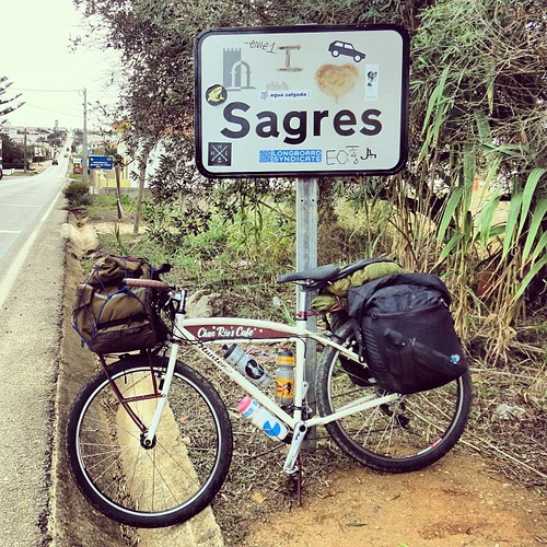 DAY 106 最終回: LAST STOP SAGRES HERE I AM!Finally made it on time my birthday before sunset riding aaaaall the way from Berlin!! Thank you everyone for your BIG support, this trip was the greatest + most beautiful birthday gift ever! 誕生日、無事にゴール、この世の果てSagres