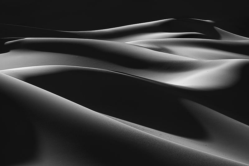 """Sea of Sand"", Mesquite Flat Sand Dunes, Death Valley"