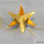 Scrap Book Paper Star Garland