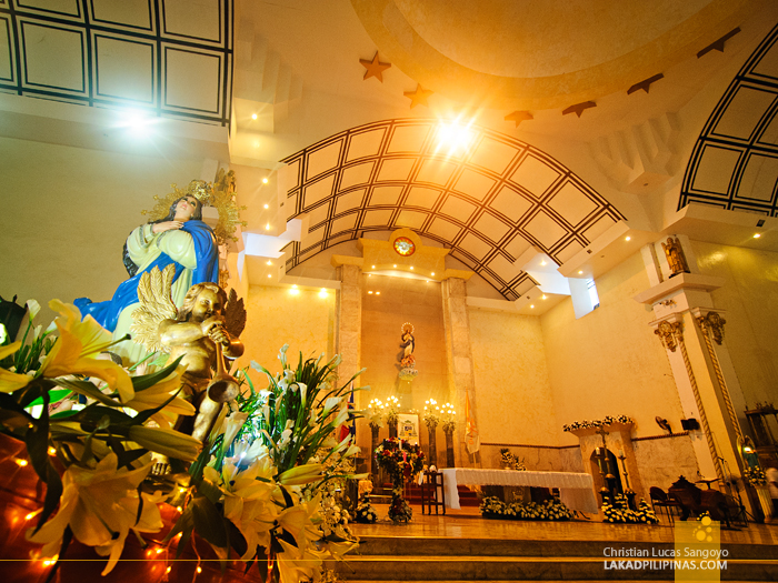 The Roxas City Capiz Cathedral Altar