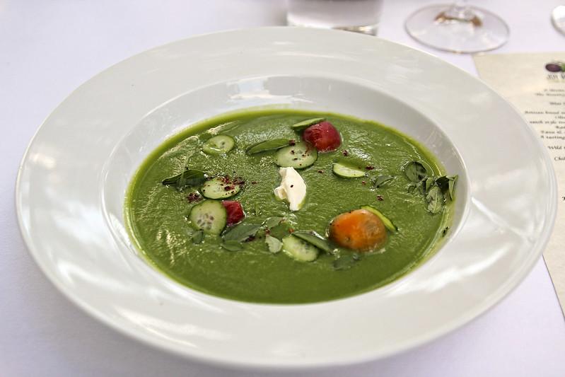 cucumber and buttermilk soup