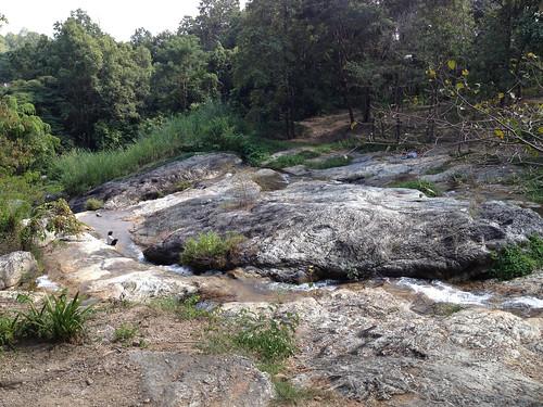 The waterfall is still ahead